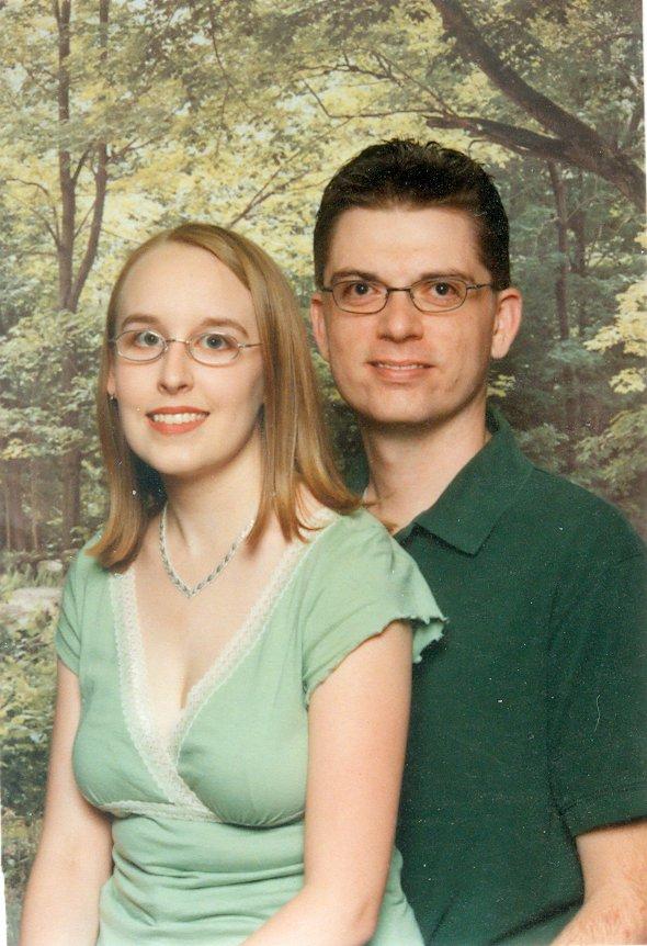 Engagement photo-June 2005