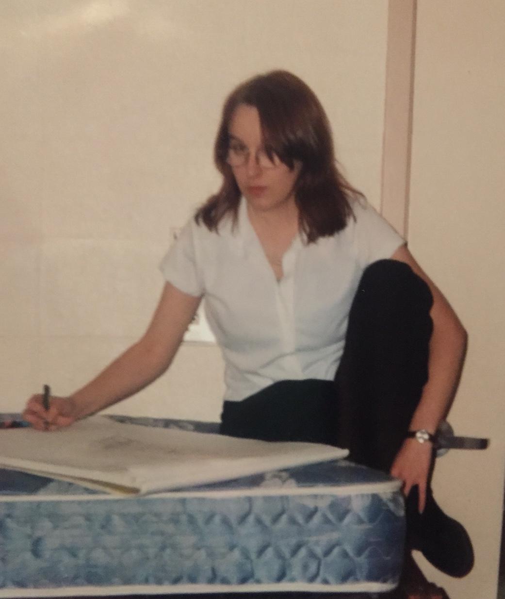 Brandi in college