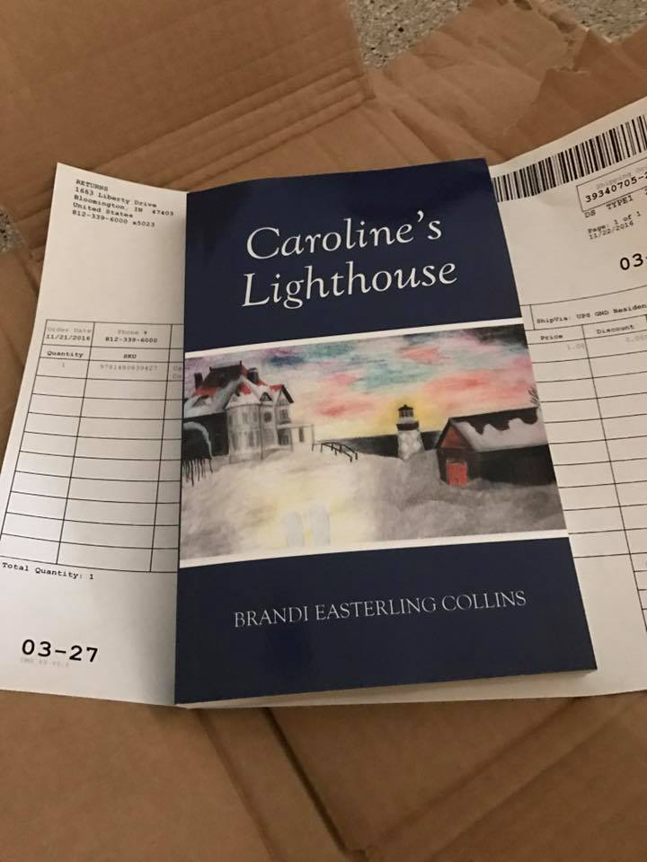 Caroline's Lighthouse in print